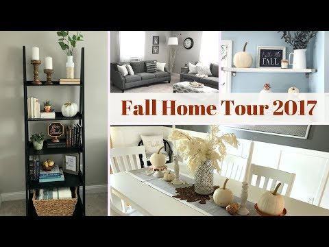 🍁FALL HOME DECOR TOUR 2017🍁feat. Amish Baskets | LYNETTE YODER