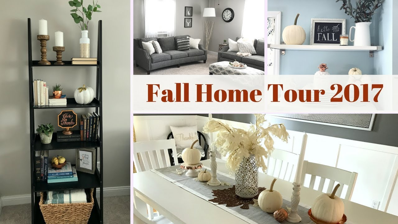 Fall Home Decor Tour 2017 Feat Amish Baskets Lynette Yoder Youtube