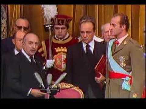 Rey de España, Proclamación