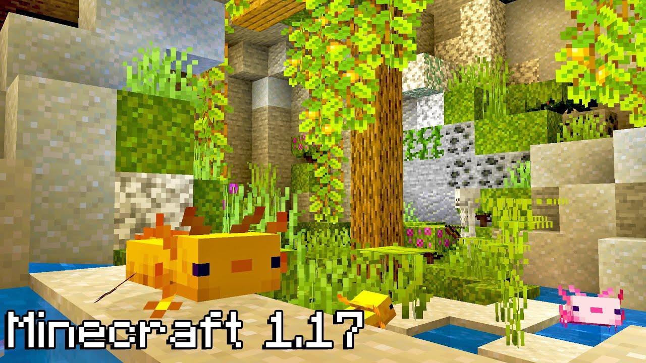 Update Yang Ditambahkan Di Minecraft 1.17