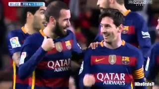 Messi'den efsane penaltı asisti