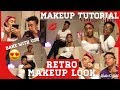 Retro Classic Makeup Look✨😍// VINTAGE GLAM FULL FACE MAKEUP TUTORIAL 💛