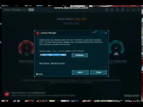 driver booster 3.5 key