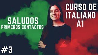 Saludos y primeros contactos en italiano