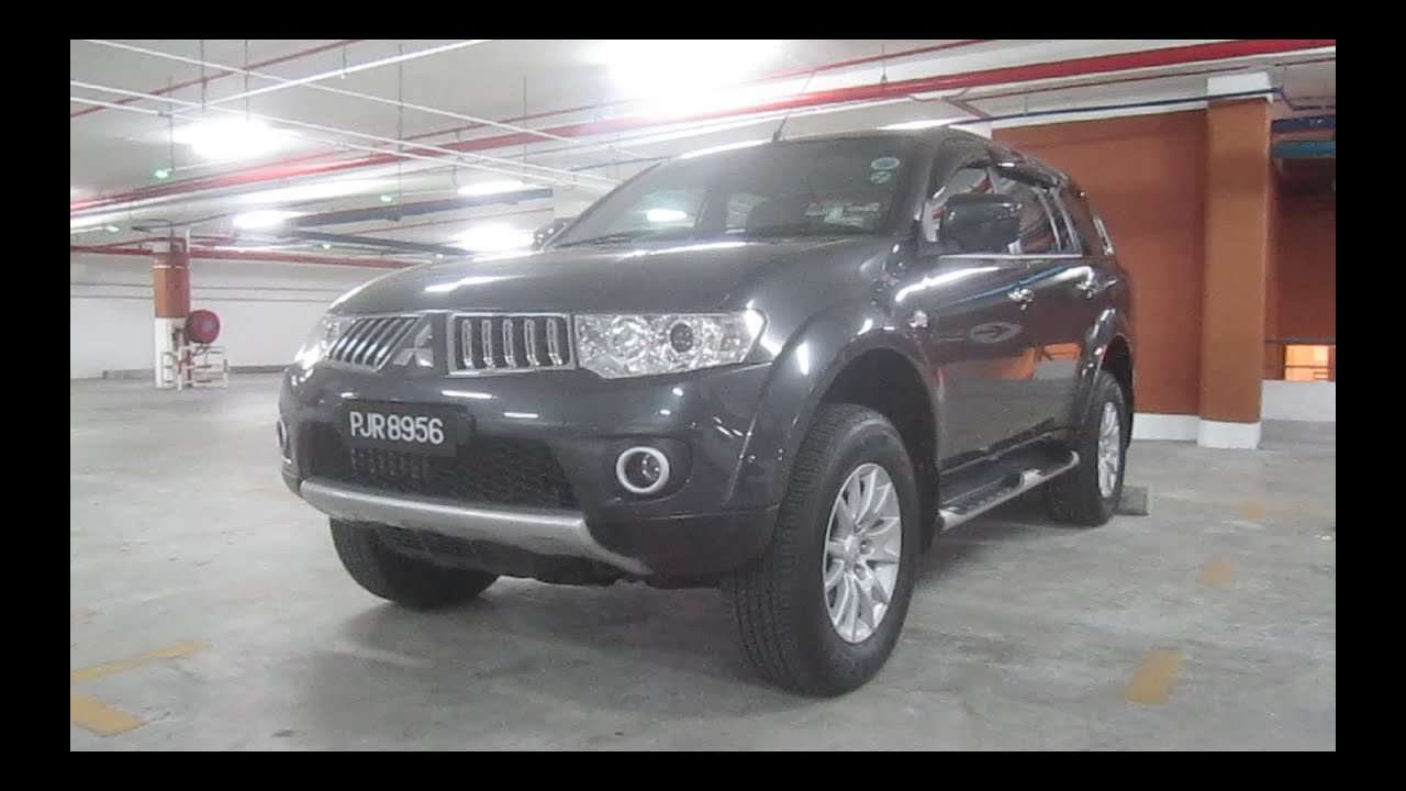 2010 mitsubishi pajero sport gs 4wd start up and full vehicle tour youtube