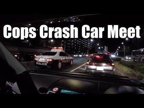 Tokyo Night Meet Shutdown | Street Drifting | Cops!