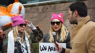 Interviewing People at the Women's March 2019 in NYC (Part 1 of 2)