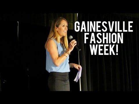 Hosting Gainesville Fashion Week!!