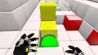 Q.U.B.E Gameplay 25min walkthrough Découverte Part 1/4