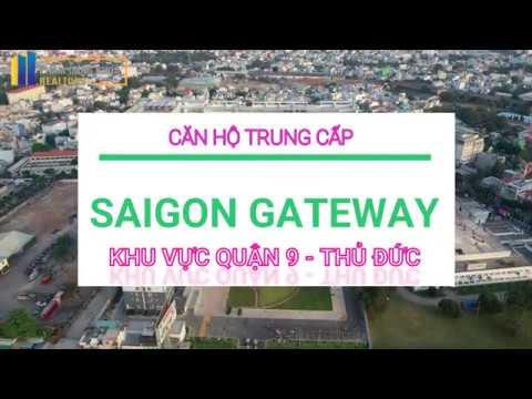 [ FLYCAM 4K ] SAIGON GATEWAY Quận 9 : CĂN HỘ TRUNG CẤP MẶT TIỀN XA LỘ HÀ NỘI