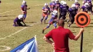 Me playing football