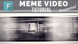 【影片製作技巧教學 #22】FILMORA 如何讓視頻變 meme Video *網友要求*