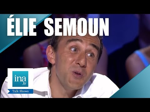 """Elie Semoun """"Interview Kevina"""" - Archive INA"""
