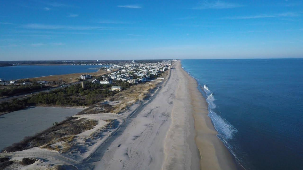 Dewey Beach And Lewes De Aerial Imaging Short Via Drone