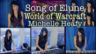 Song of Elune (World of Warcraft) Teldrassil, Ashenvale Piano, Vocal Cover | Michelle Heafy
