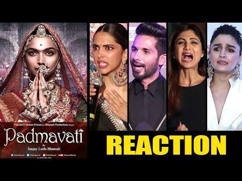 Bollywood Celebs ANGRY Reactions On Padmavati BAN Controversy- Deepika Padukone,Ranveer Singh.Shahid