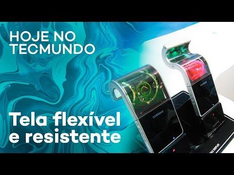 Tela flexível da Samsung, Motorola One Power e mais - Hoje no TecMundo
