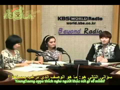 [SaengfamVN.com] [10.06.11] [Vietsub] Radio Interview with Arab Fans