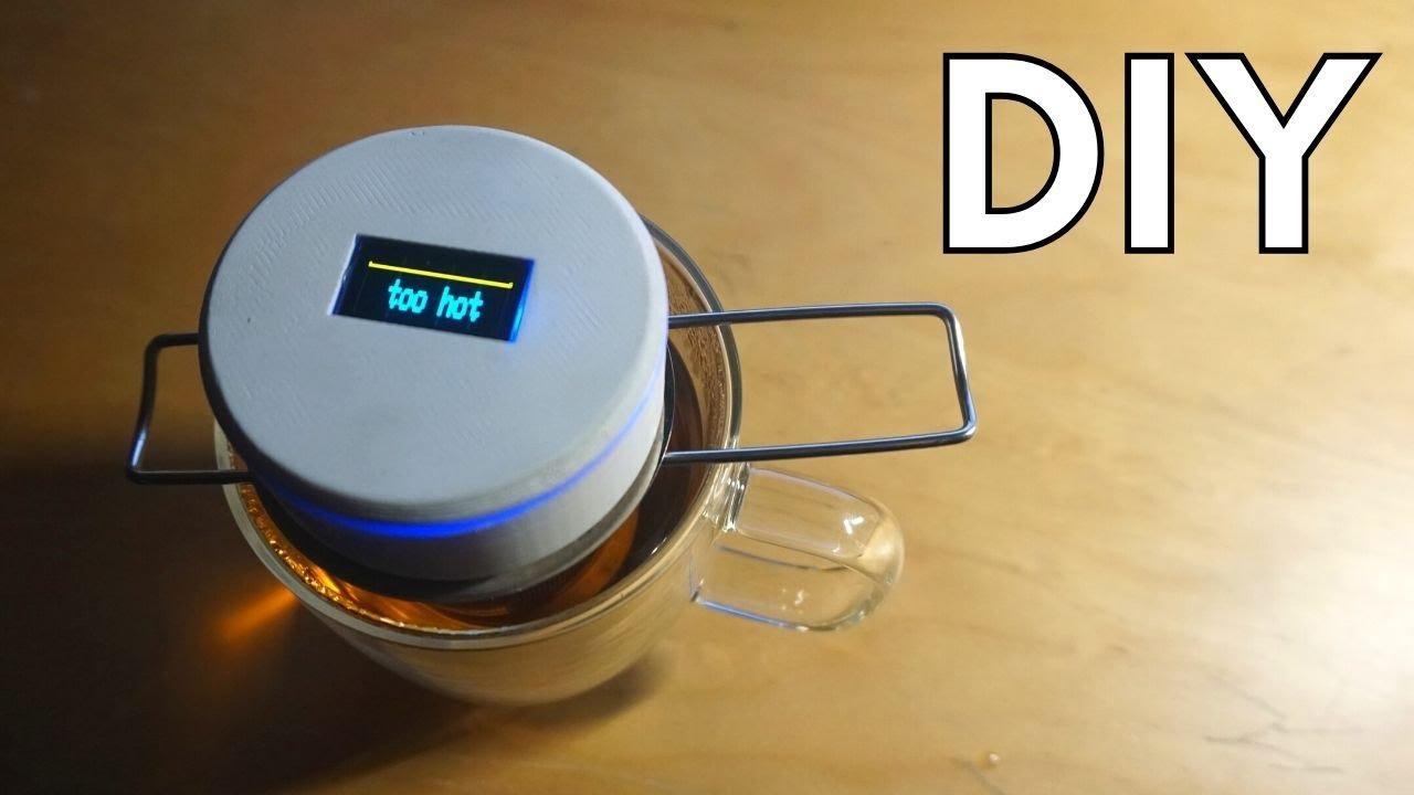 what temperature is hot tea
