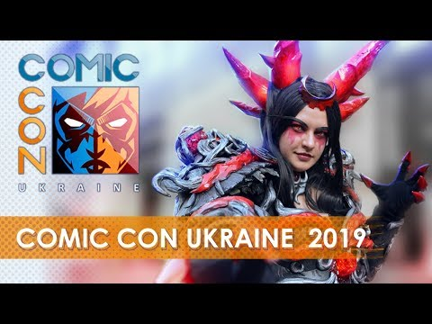 Comic Con Ukraine 2019 / COSPLAY MUSIC VIDEO