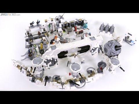 Lego star wars 2016 2011 hoth base sets together youtube - Image star wars lego ...