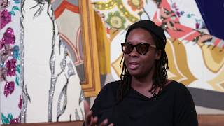 Meet the Artist: Mickalene Thomas on Her Materials and Artistic Influences