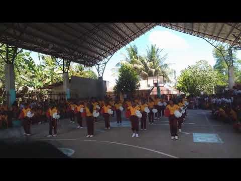 San Isidro High School Mass Cheerdance 2018