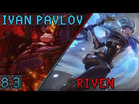 iPav's Teemo vs Riven (fun game) - Patch 8.3