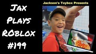 Jax Plays Roblox #32-fábrica de pizza-por que minha pizza é tão ruim?