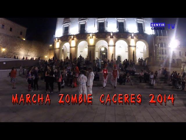 Marcha Zombie - Cáceres 2014 -