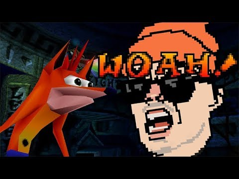 Crash Bandicoot WOAH! MEME REVIEW - One of the many, unfortunately lost, episodes of The Meme Review with The B E S T  T E E T H  I N  T H E  F U C K I N  G A M E