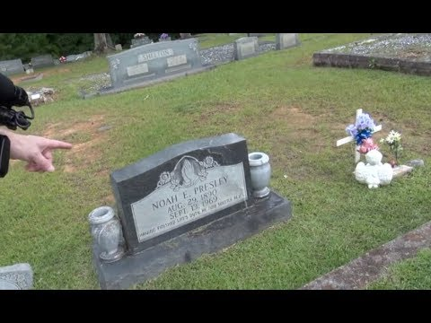 Elvis Jesse Garon Grave Follow Up Priceville Cemetery The Spa Guy