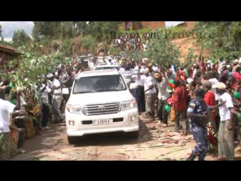 Pierre Nkurunziza comes back to Bujumbura after failed coup attempt