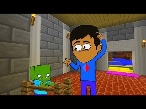 Minecraft Animated Short #3 - RIP NATI (How To Minecraft Animation)