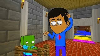 One of Vikkstar123HD's most viewed videos: Minecraft Animated Short #3 - RIP NATI (How To Minecraft Animation)
