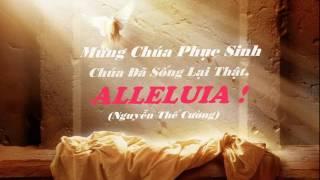 """Mừng Chúa Phục Sinh """"Chúa Đã Sống Lại Thật, Alleluia!"""" - Nguyễn Thế Cường"""