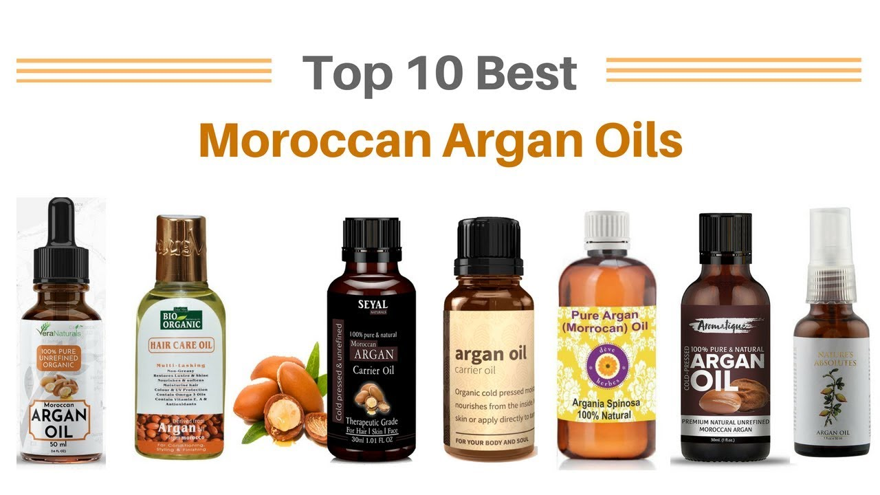 Top 10 Best Moroccan Argan Oil in India with Price 2018 Best Argan Oil  Brand in India