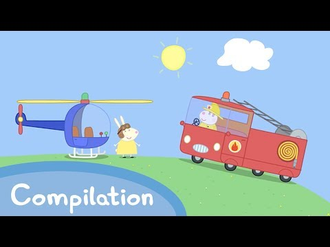 Peppa Pig English Episodes - Learn Transport with Peppa and Friends! - #031