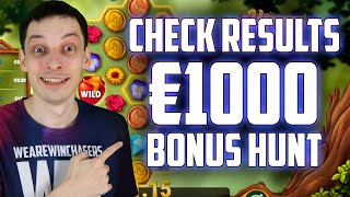 постер к видео BONUS HUNT RESULTS: Many Double Bonuses | Online Casino Slots Big Wins