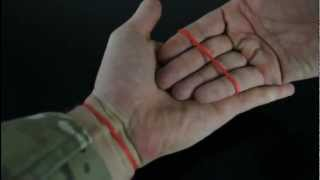 Amazing Rubber Band Trick!