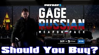 PAYDAY 2: Gage Russian Weapon Pack DLC Review! Should You Buy?
