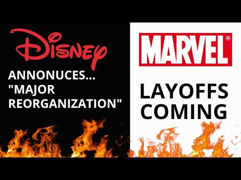 "Marvel Comics Owner Announces ""Major Reorganization""  AKA 'Layoffs'"
