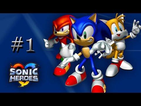 Фан Игры по Сонику №2: Blitz Sonic Heroes