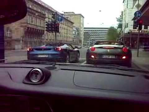 F430 vs. Ferrari California Spider! - YouTube
