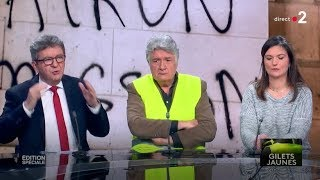 Spéciale Gilets jaunes - Avec JL Mélenchon, F. Ruffin, E. Todd, T. Piketty...
