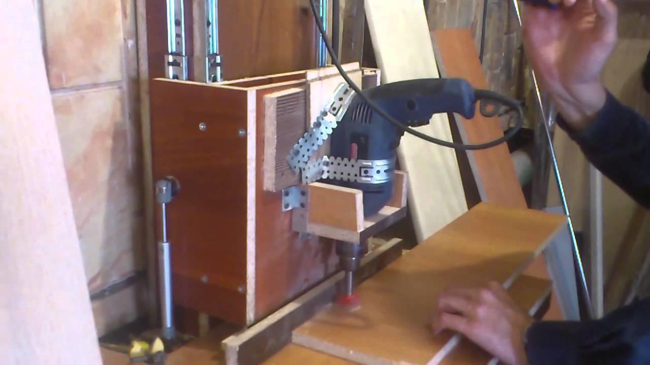 Мебельные технологии.станок сверлильный самодельный из лдсп .