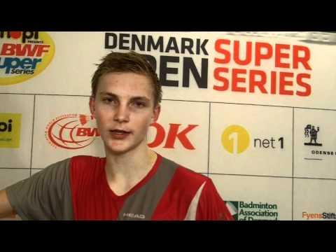 Interview Viktor Axelsen efter nederlag til Jan Ø.