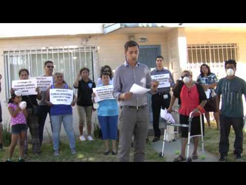 Alexander Harnden of Legal Aid Foundation of Los Angeles on Lead Contamination at Jordan Downs