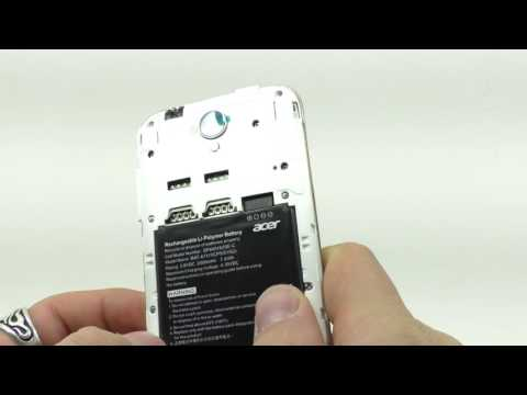 Видео обзор смартфона Acer Z330 8 Гб белый