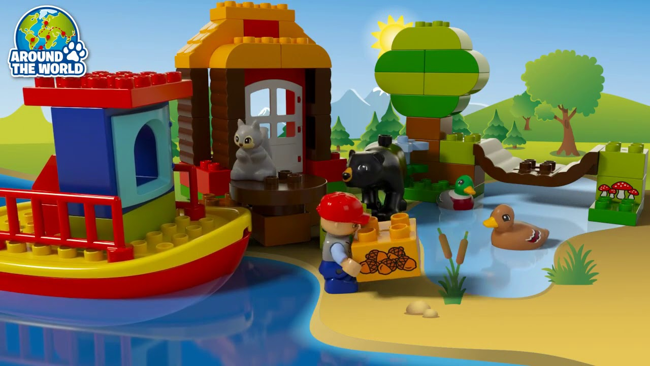Lego 10805 Around The World Lego Duplo Youtube